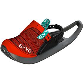 EVVO Snow Shoes, rojo/gris